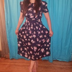Pretty Vintage Worthington Floral Dress